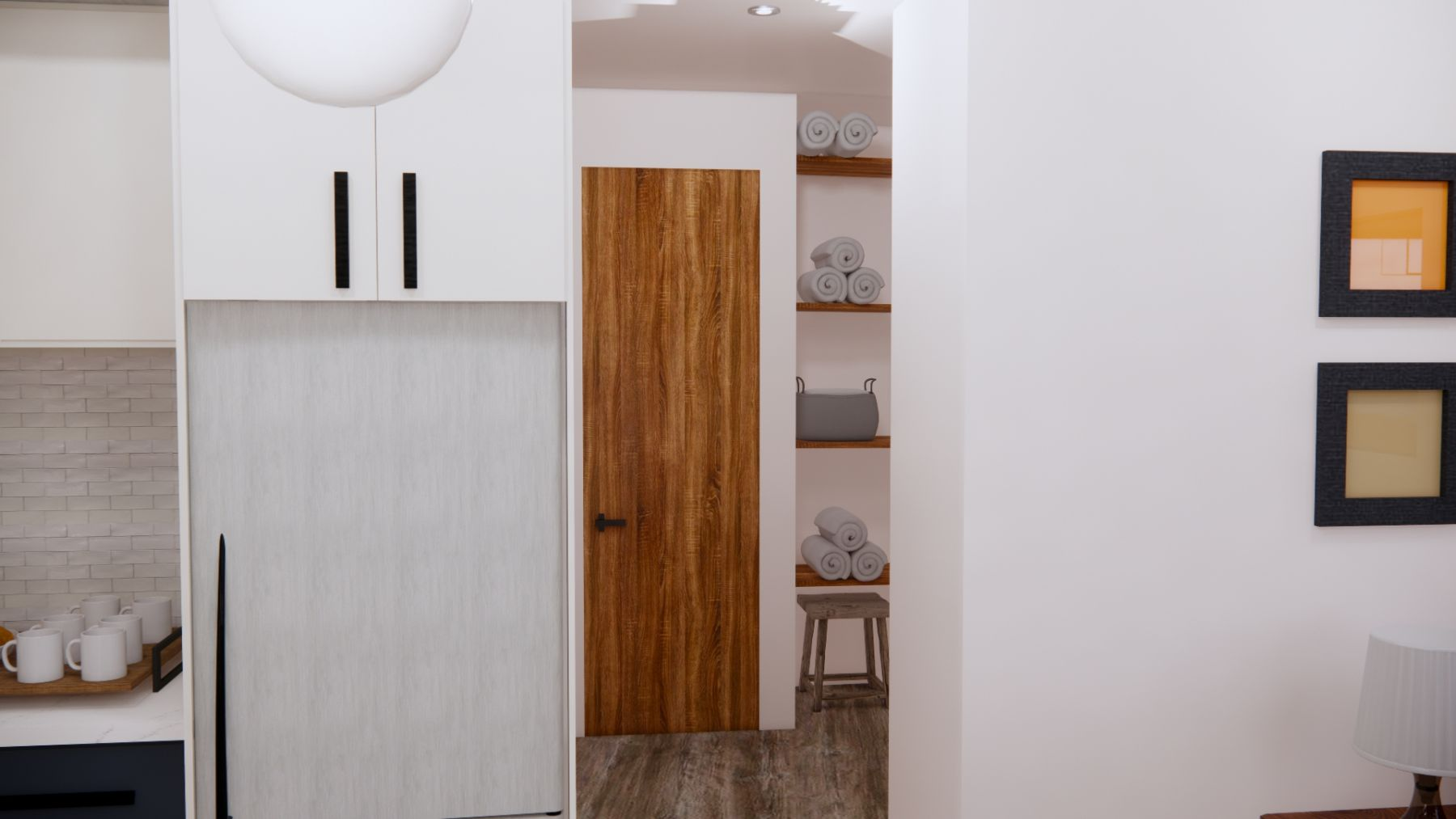 Hall-with-linen-closet